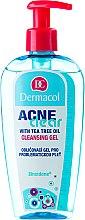 Profumi e cosmetici Gel detergente struccante per la pelle problematica - Dermacol Acne Clear Make-Up Removal & Cleansing Gel