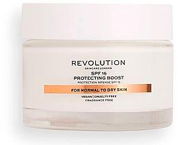 Profumi e cosmetici Crema idratante con SPF15 per pelli normali e secche - Revolution Skincare Moisturizing Cream SPF15