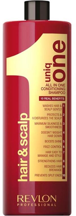 Shampoo condizionante per capelli - Revlon Professional Hair & Scalp Uniq One