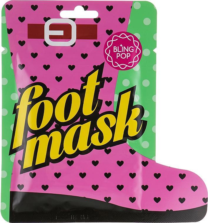 Calzini per pedicure al burro di karitè - Bling Pop Shea Butter Healing Foot Mask