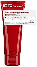Profumi e cosmetici Gel autoabbronzante - Recipe For Men Self Tanning Face Gel