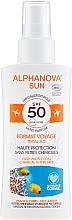 Profumi e cosmetici Spray solare - Alphanova Sun Bio SPF50 Spray Voyage