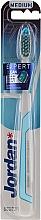 Profumi e cosmetici Spazzolino Expert Clean, medio, blu-bianco - Jordan Expert Clean Medium