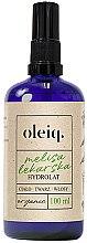 Profumi e cosmetici Idrolato melissa per viso, corpo e capelli - Oleiq Hydrolat Melissa