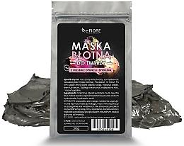 Profumi e cosmetici Maschera al fango, viso, con spirulina - E-fiore Mud Face Mask With Spirulina, Opuntia Oil And HA Acid