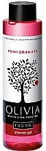 "Profumi e cosmetici Gel doccia ""Melograno"" - Olivia Beauty & The Olive Fusion Shower Gel Pomegranate"