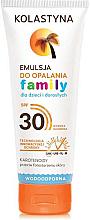 Profumi e cosmetici Emulsione solare per tutta la famiglia - Kolastyna Family Suncare Emulsion SPF 30