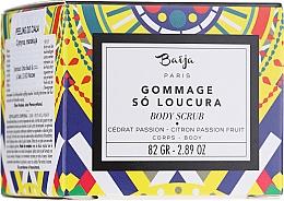 """Profumi e cosmetici Scrub corpo """"Cedro e frutto della passione"""" - Baija Gommage So Loucura Citron Passion Fruit Body Scrub"""