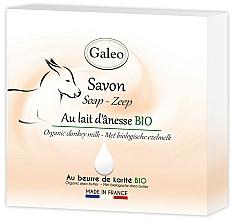 Profumi e cosmetici Sapone al latte d'asina - Galeo Soap Organic Donkey Milk