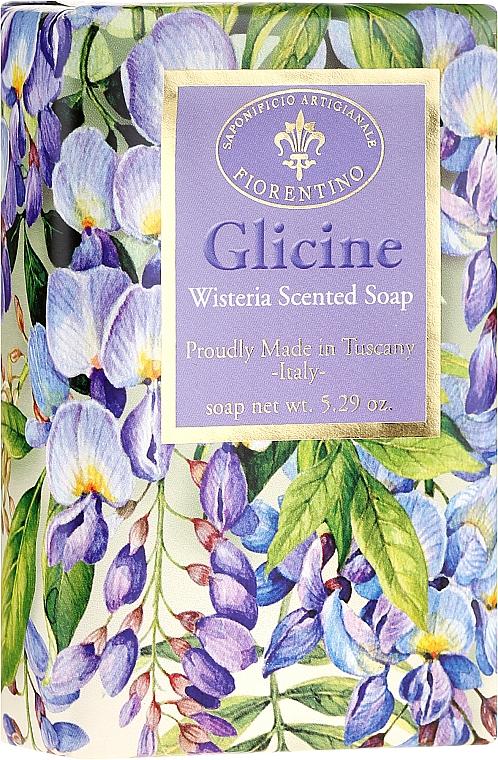 """Sapone naturale """"Glicine"""" - Saponificio Artigianale Fiorentino Masaccio Wisteria Soap"""
