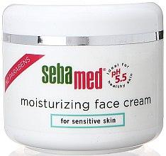 Profumi e cosmetici Crema idratante - Sebamed Moisturing Face Cream Sensitive Skin