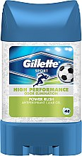 Profumi e cosmetici Antitraspirante gel - Gillette Power Rush Anti-Perspirant Gel for Men