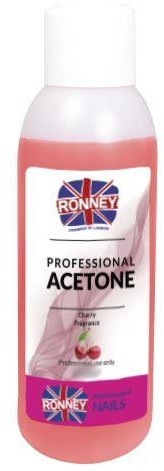 Solvente unghie, ciliegia - Ronney Professional Acetone Cherry