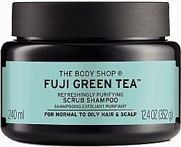 "Profumi e cosmetici Scrub-shampoo per capelli e cuoio capelluto ""Green Tea"" - The Body Shop Fuji Green Tea Cleansing Hair Scrub"