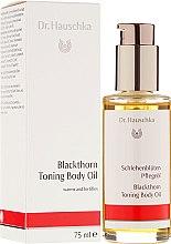 """Profumi e cosmetici Burro per il corpo """"Fiore di prugnolo"""" - Dr. Hauschka Blackthorn Toning Body Oil"""