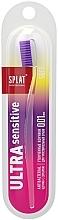 Profumi e cosmetici Spazzolino da denti, morbido, viola trasparente - Splat Ultra Sensitive Soft