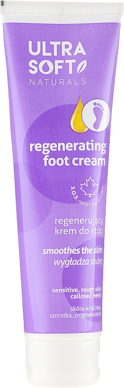 Crema piedi rigenerante - Ultra Soft Naturals Regenerating Foot Cream Smoothes