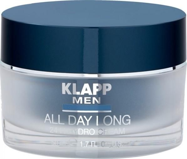 Crema viso, 24 ore - Klapp Men All Day Long 24h Hydro Cream — foto N1