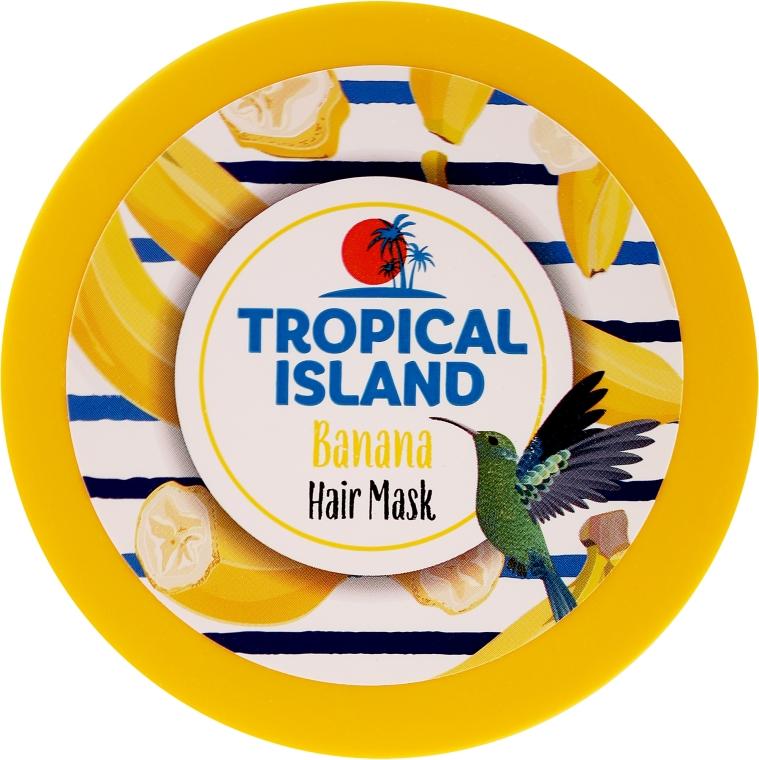 "Maschera per capelli ""Banana"" - Marion Tropical Island Banana Hair Mask"