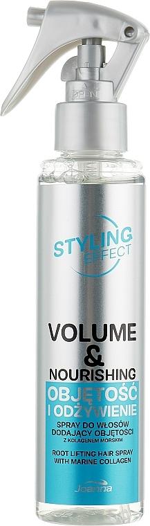 """Lacca per capelli """"Volume e nutrizione"""" - Joanna Styling Effect Volume & Nourishing Hair Spray"""