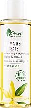 Profumi e cosmetici Olio da massaggio allo ylang-ylang - Ava Laboratorium Aromatherapy Massage Stimulating Massage Oil Ylang-Ylang
