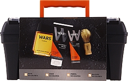 Profumi e cosmetici Set - Wars (sh/lot/90ml + sh/cr/65ml + ash/balm/100ml + brush)