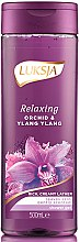 Profumi e cosmetici Gel doccia - Luksja Relaxing Orchid & Ylang Ylang Shower Gel