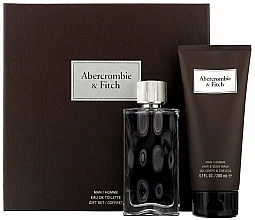 Profumi e cosmetici Abercrombie & Fitch First Instinct - Set (edt 100ml + sh/gel 200ml)