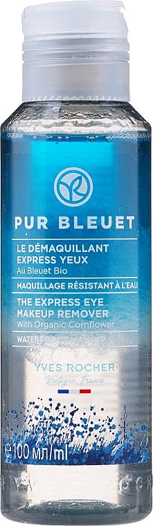 Struccante-express occhi con fiordaliso - Yves Rocher Pur Bleuet The Express Eye Make Up Remover