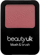 Profumi e cosmetici Blush con pennello - Beauty UK Blush & Brush