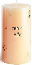 Profumi e cosmetici Candela profumata, crema, 9x8cm - Artman Winter Glass