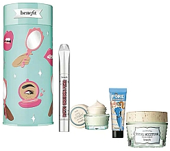 Profumi e cosmetici Set - Benefit Your B.Right To Party Set (f/cr/48.2g + br/primer/3ml + f/primer/7.5ml + eye/cr/14.2g)