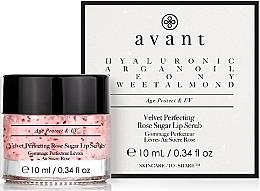 Profumi e cosmetici Scrub labbra - Avant Velvet Perfecting Rose Sugar Lip Scrub