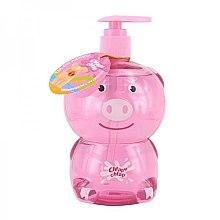 """Profumi e cosmetici Gel doccia per bambini """"Pig"""" - Chlapu Chlap Bath & Shower Gel"""