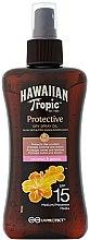 Profumi e cosmetici Olio secco solare - Hawaiian Tropic Protective Dry Spray Sun Oil SPF 15