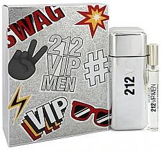 Profumi e cosmetici Carolina Herrera 212 VIP Gift Set 2 - Set (edt/100ml + edt/mini/10ml)