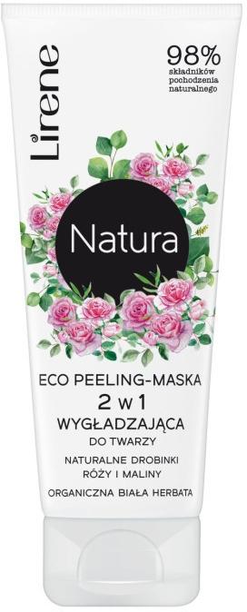 Maschera peeling viso - Lirene Natura Eco Peeling-Mask