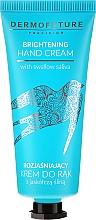 Profumi e cosmetici Crema mani illuminante - Dermofuture Brightening Hand Cream
