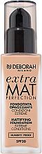 Profumi e cosmetici Fondotinta opacizzante - Deborah Extra Mat Perfection SPF20