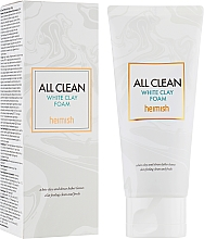 Profumi e cosmetici Schiuma detergente viso - Heimish All Clean White Clay Foam