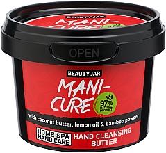 Profumi e cosmetici Olio detergente mani - Beauty Jar Mani-Cure Hand Cleansing Butter