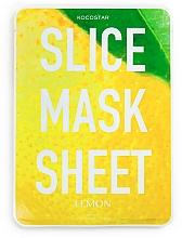 "Profumi e cosmetici Maschera viso ""Limone"" - Kocostar Slice Mask Sheet Lemon"