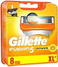 Profumi e cosmetici Lamette di ricambio, 8 pz. - Gillette Fusion Power