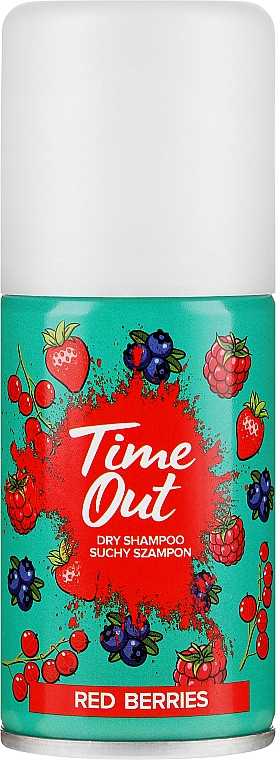 Shampoo secco - Time Out Dry Shampoo Red Berries