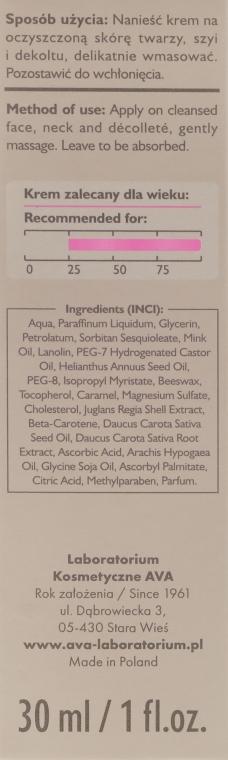 Crema viso illuminante 5in1 - Ava Laboratorium Ava Mustela 5In1 Cream — foto N3