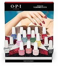 Profumi e cosmetici Set - O.P.I Gel Color Hollywood Spring 2021 16pc Salon Display