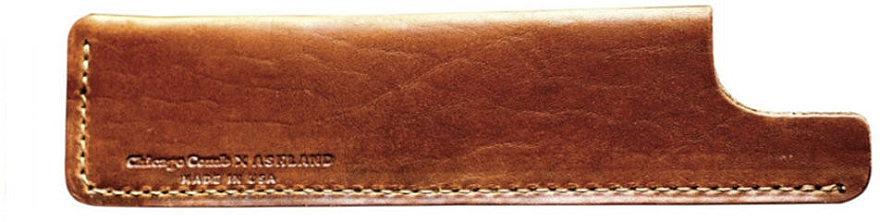 Porta pettine, marrone - Chicago Comb Co Case Small — foto N1