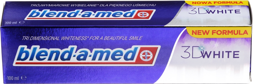 "Dentifricio ""Sbiancamento tridimensionale"" - Blend-a-med 3D White Toothpaste"