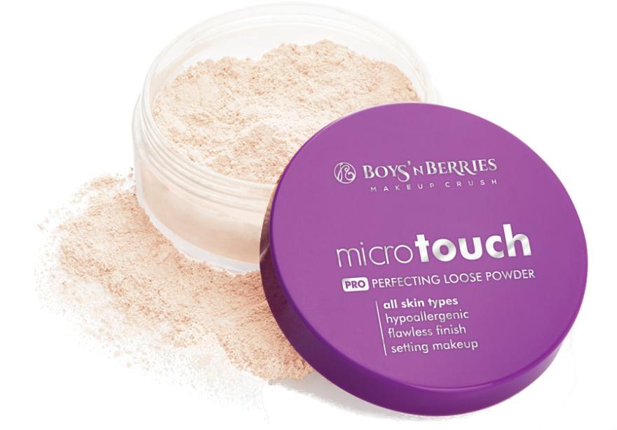 Cipria friabile - Boys'n Berries Loose Powder Micro Touch — foto N1