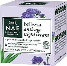 Profumi e cosmetici Crema viso da notte - N.A.E. Bellezza Anti-Age Night Cream